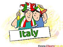 Fans Gratuit Cliparts Joueurs Soccer Italie télécharger