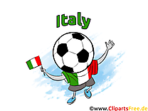 Joueur Football Soccer Italie gratuit Image