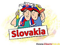 Fans Gratuit Soccer Clip arts pour télécharger Slovaquie