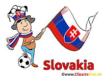 Illustration Soccer gratuitement télécharger Slovaquie