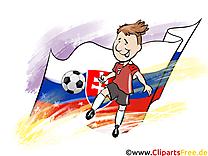 Slovaquie Joueurs Cliparts Soccer pour télécharger