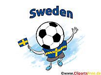Gratuit Soccer Suède Clip arts pour télécharger