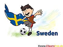 Suède Gratuit Cliparts Joueurs Soccer télécharger