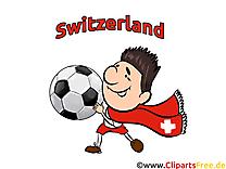 Clipart Suisse Football Terrain pour télécharger