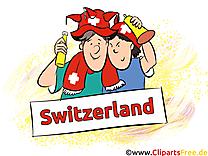 Fans Soccer Coupe Du Monde Suisse pour télécharger
