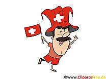 Gratuit Cliparts Joueurs Suisse Soccer télécharger
