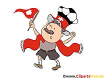 Illustrations Suisse Football Joueurs télécharger