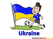 Gratuit Soccer Clip arts pour télécharger Ukraine