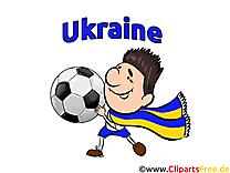Joueurs Cliparts Soccer Ukraine pour télécharger