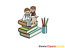 Bienvenue image gratuite – Début école illustration