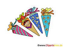 Bonne année scolaire illustration gratuite clipart
