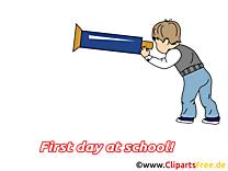 Classe image gratuite – Début école cliparts