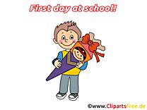 Cliparts gratuis rentrée – Début école images