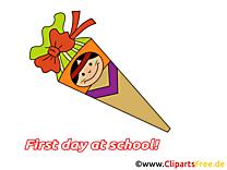 Fête début école image à télécharger gratuite