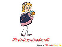 Fille dessin à télécharger – Début école images