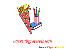 Fourniture scolaire image gratuite – Début école cliparts