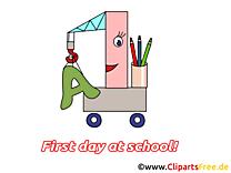 Grue clipart gratuit – Début école images