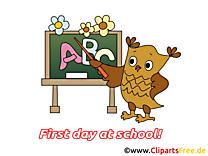 Hibou clipart gratuit – Début école images