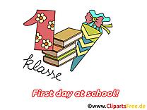 Images rentrée – Début école dessins gratuits