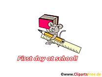 Manuels règle image gratuite – Début école clipart