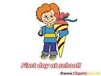Premier jour clipart gratuit – Début école images