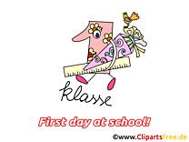 Règle clip art – Début école gratuite