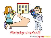 Rentrée image gratuite – Début école cliparts