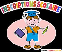 Scolarisation clipart gratuite