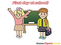 Tableau clip art gratuit – Début école images