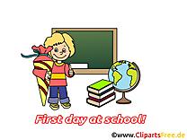 Tableau début école image à télécharger gratuite