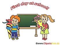 Tableau image – Début école images cliparts
