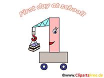 Voiture dessin gratuit – Début école image