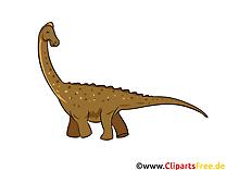 Barosaurus dessin à télécharger – Dinosaure images