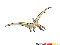 Pterodactyl clip art gratuit – Dinosaure images