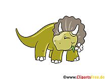 Tricératops image à télécharger – Dinosaure clipart