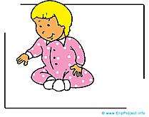 Bébé dessins gratuits - Maternelle  clipart gratuit