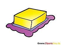 Beurre cliparts gratuis - Thé images gratuites