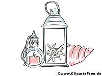 Bougie dessin gratuit - Pots image gratuite