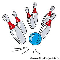 Bowling quilles dessin gratuit à télécharger