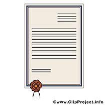 Certificat image à télécharger - Diplôme clipart