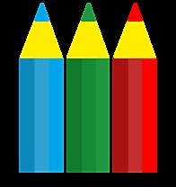 Crayons colorés image gratuite clipart