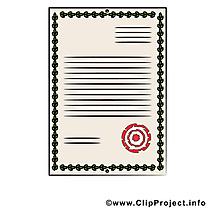 Diplôme illustration - Document images gratuites