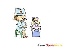 Docteur clipart gratuit - Maternelle  dessins