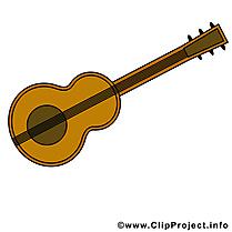 Guitare images gratuites – Musique clipart gratuit
