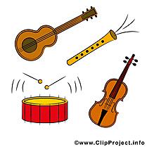 Instruments image gratuite - Musique  illustration