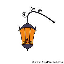 Lanterne dessin - Lumière cliparts à télécharger