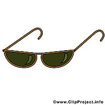 Lunettes soleil dessin clip arts gratuits