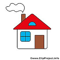 Maison dessins gratuits à télécharger clipart