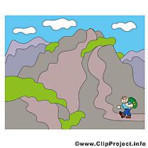 Montagne image gratuitte - Explorareur cliparts