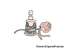 Parfum illustration - Rose images gratuites